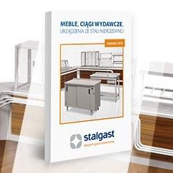 Katalog Stalgast: Meble, Ciągi wydawcze, Urządzenia ze stali nierdzewnej 2018