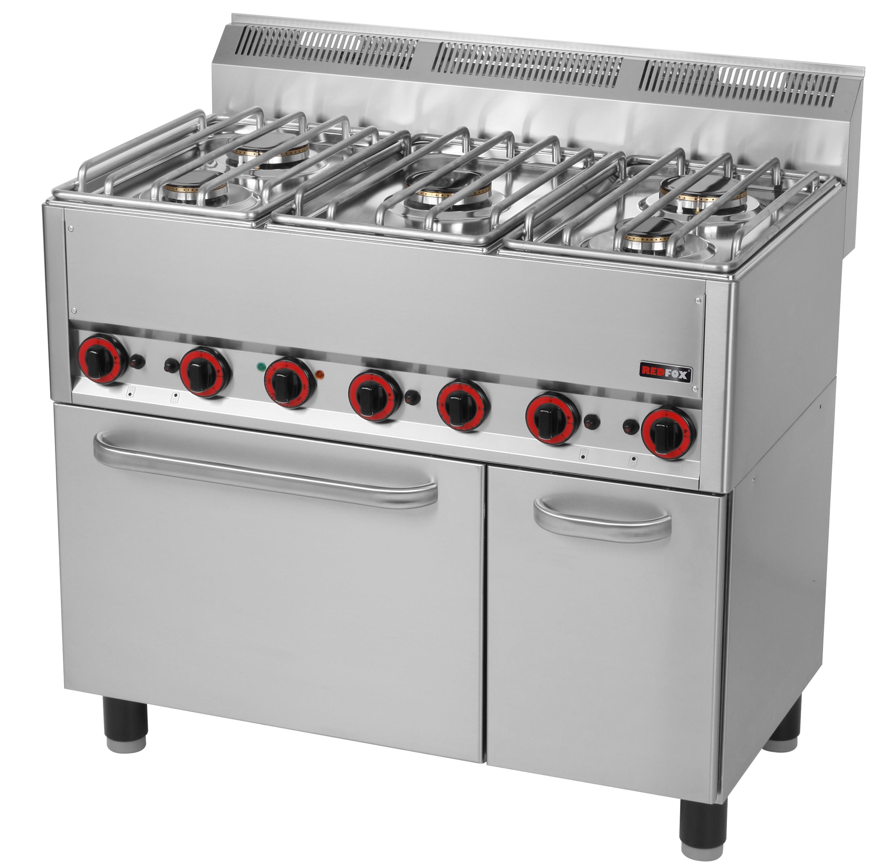 Redfox Kuchnia Gazowa Z Piekarnikiem Elektrycznym Spt 905 Gl 00000540 Gastr