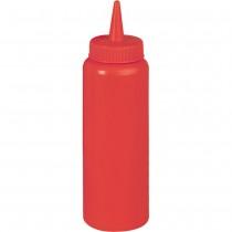 Stalgast Dyspenser do sosów czerwony 0,7 l
