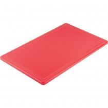 Stalgast Deska do krojenia GN 1/1 czerwona