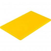 Stalgast Deska do krojenia GN 1/1 żółta