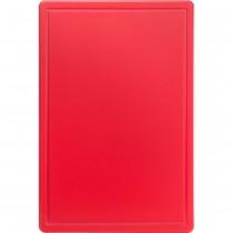 Stalgast Deska do krojenia 600x400x18 mm czerwona