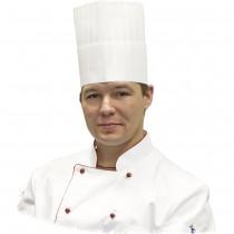 Stalgast Czapka kucharska Premium 200 mm