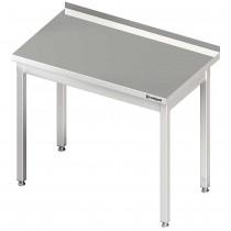Stalgast Stół przyścienny bez półki 800x600x850 mm skręcany