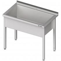 Stalgast Stół z basenem 1-komorowym spawany 600x600x850 mm h=300 mm