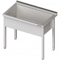 Stalgast Stół z basenem 1-komorowym spawany 1000x600x850 mm h=300 mm