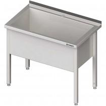 Stalgast Stół z basenem 1-komorowym spawany 1000x600x850 mm h=400 mm