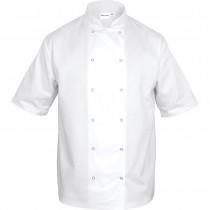 Nino Cucino Bluza kucharska biała krótki rękaw XL unisex