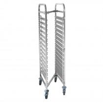 Hendi Wózek do transportu blach 15-półkowy GN 1/1 - kompaktowy