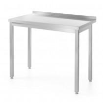 Hendi Stół roboczy przyścienny - skręcany 800x600 mm
