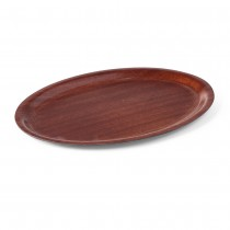 Hendi Taca antypoślizgowa drewniana owalna 290x210 mm