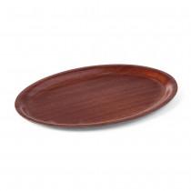 Hendi Taca antypoślizgowa drewniana owalna 200x265 mm